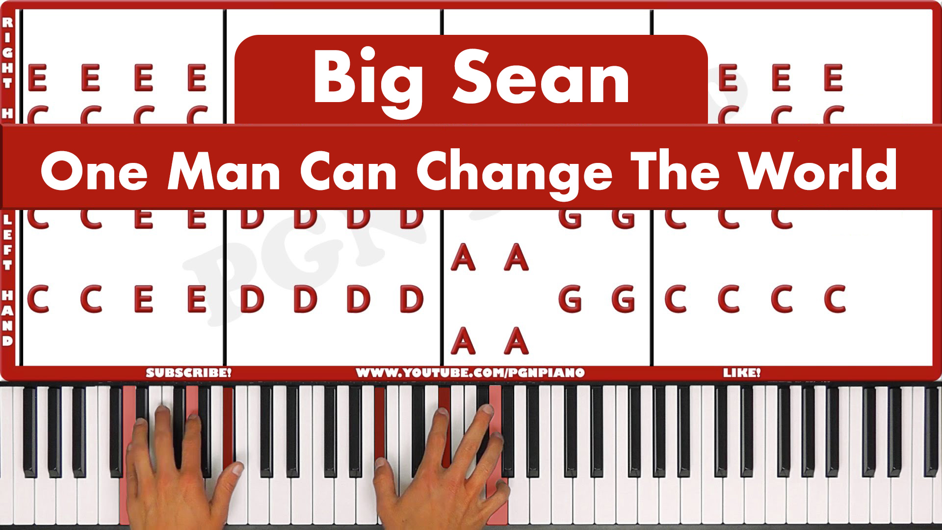 Big Sean – One Man Can Change The World – Original