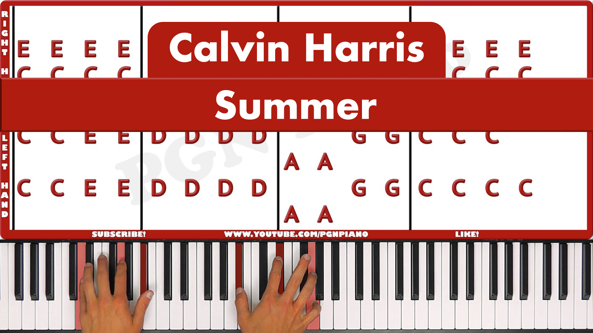 Calvin Harris – Summer – Vocal