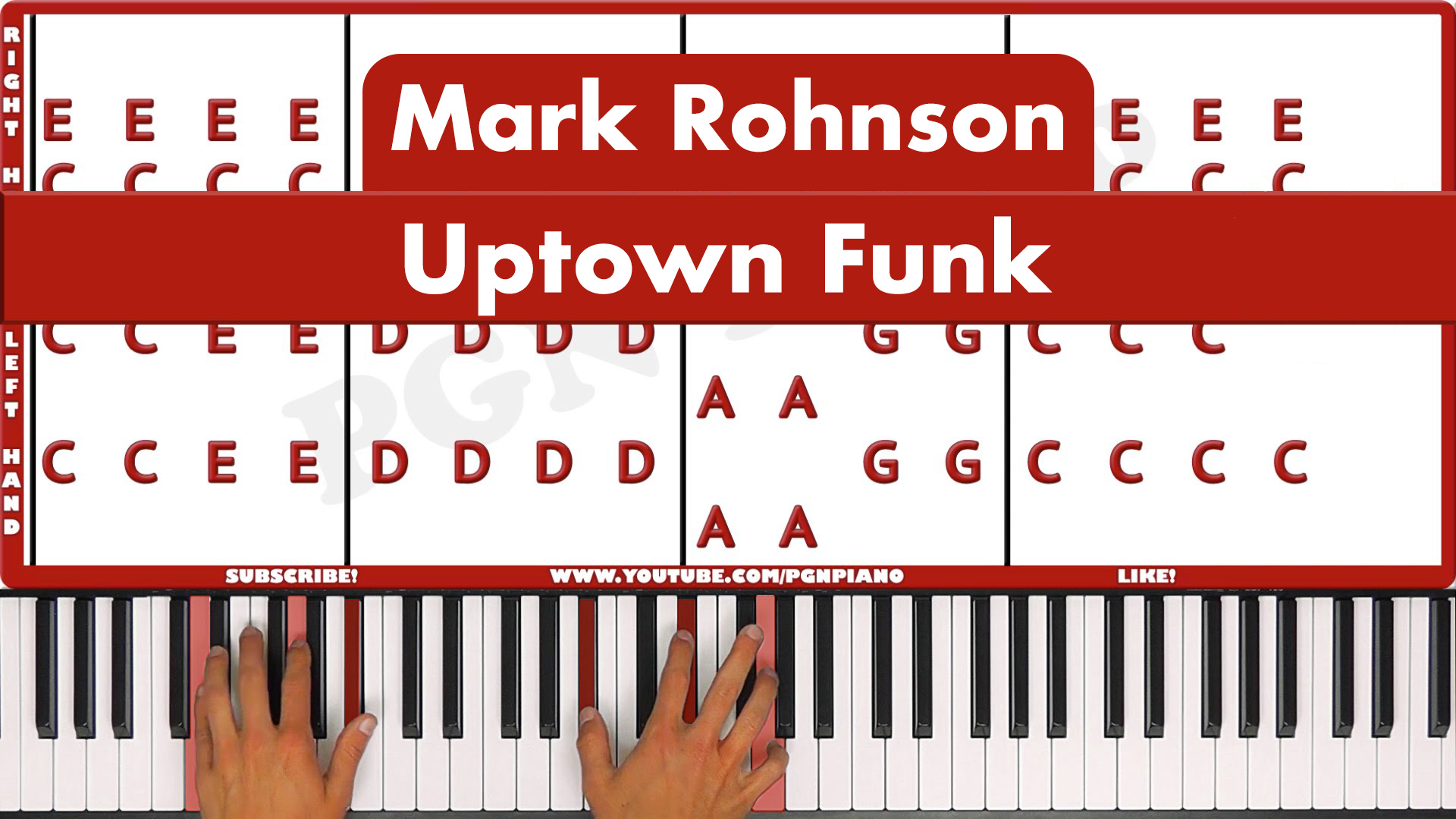 Mark Rohnson – Uptown Funk – Easy