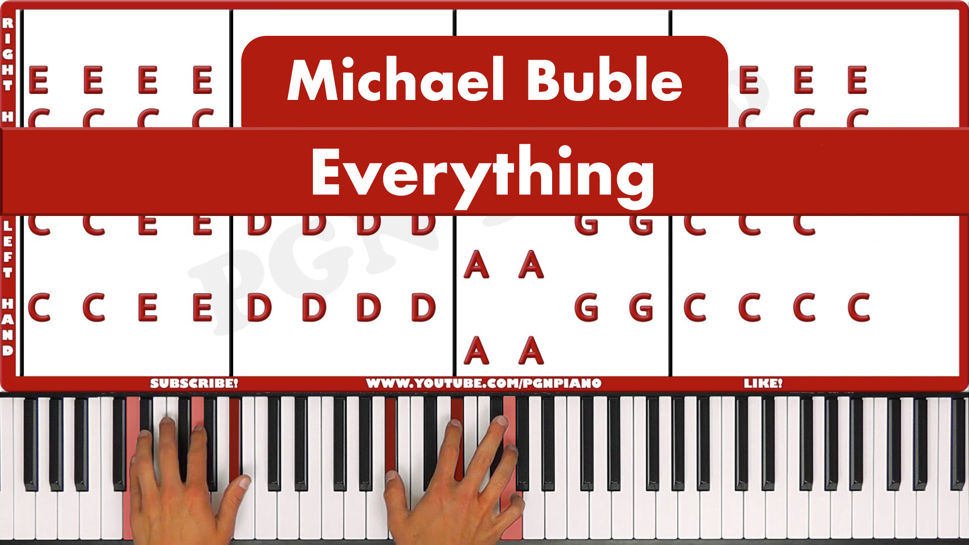 Michael Buble – Everything – Easy