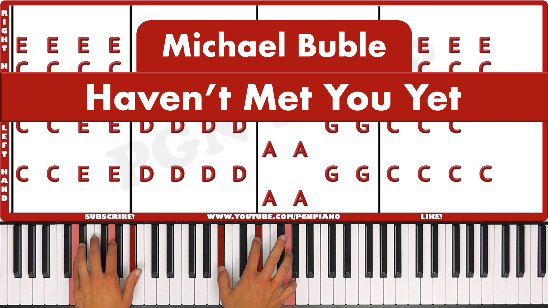 Michael Buble – Haven't Met You Yet – Easy