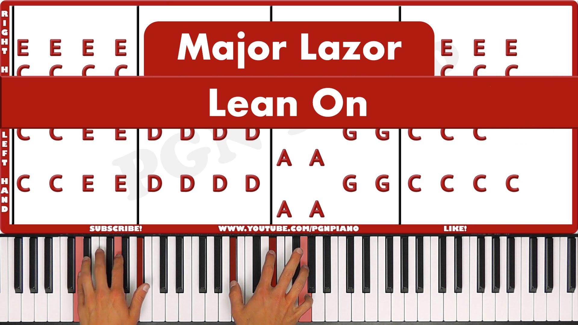 Major Lazor – Lean On – Easy