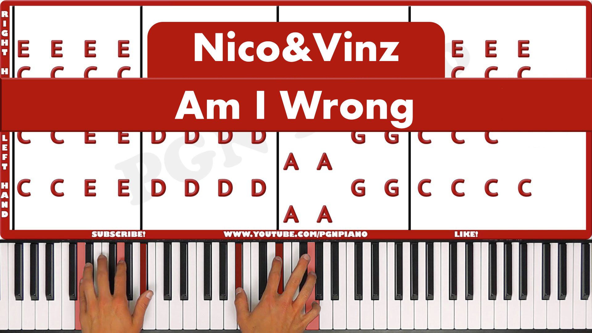 Nico & Vinz – Am I Wrong – Easy