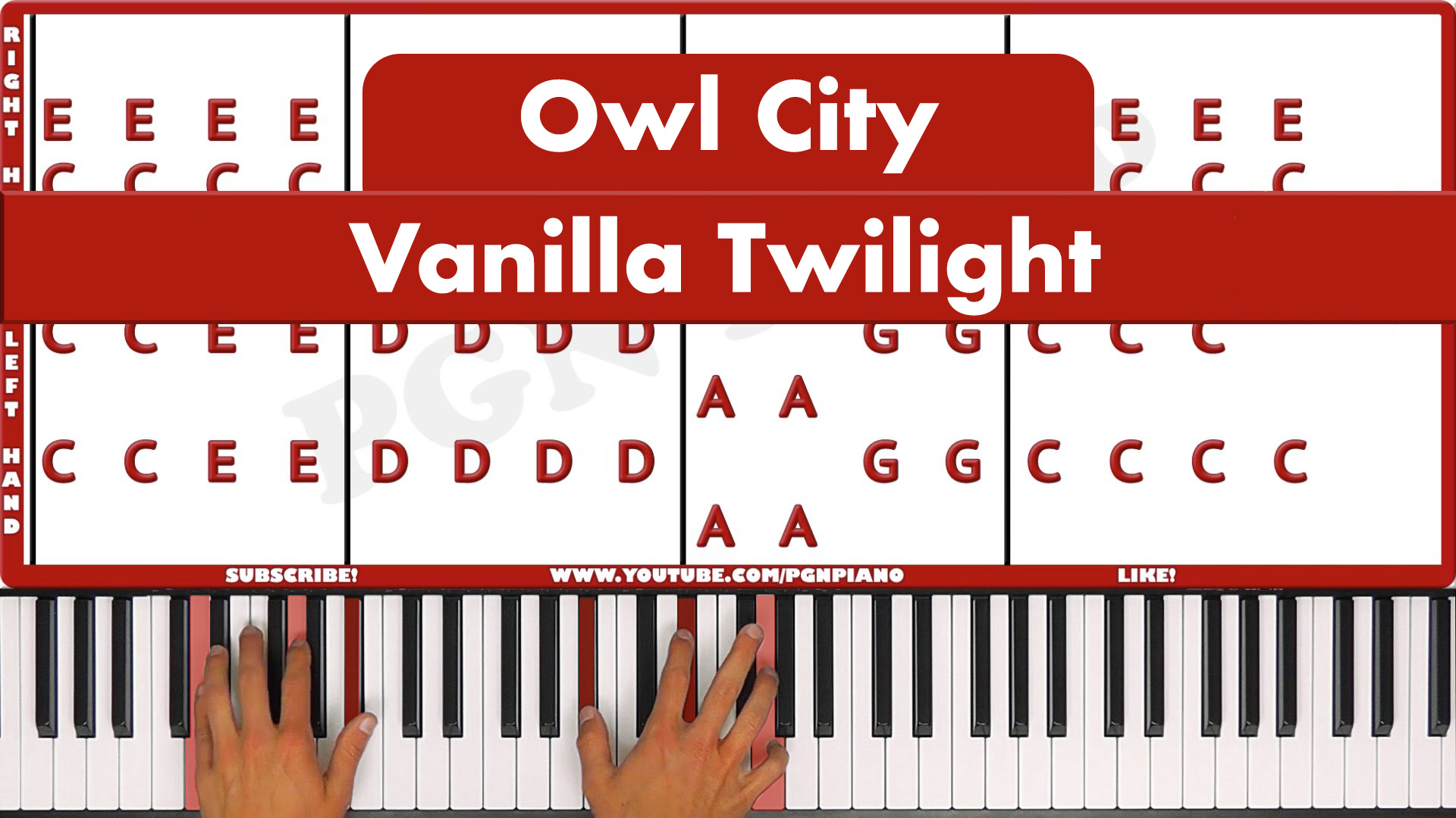 Owl City – Vanilla Twilight – Easy