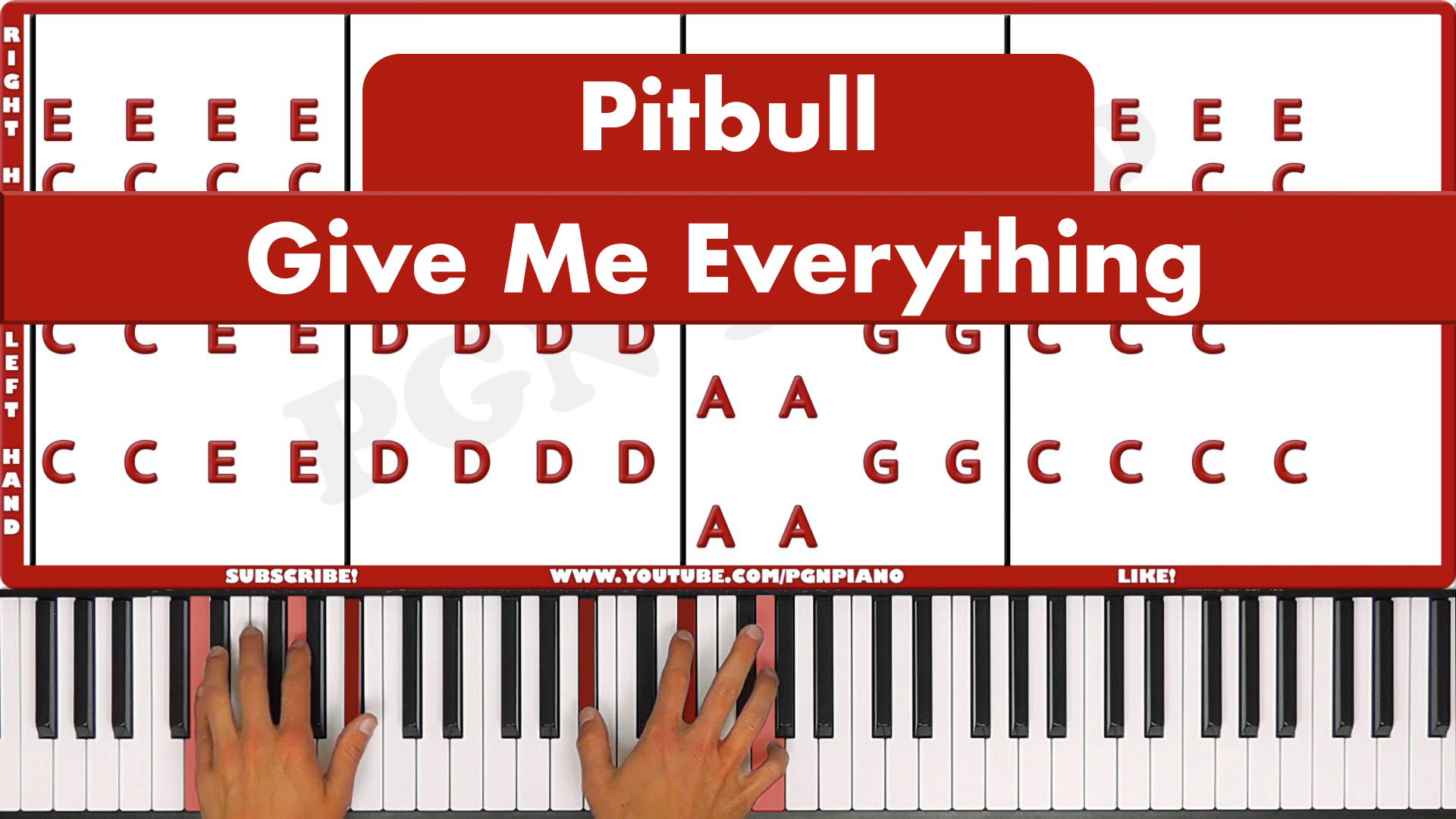 Pitbull – Give Me Everything – Easy