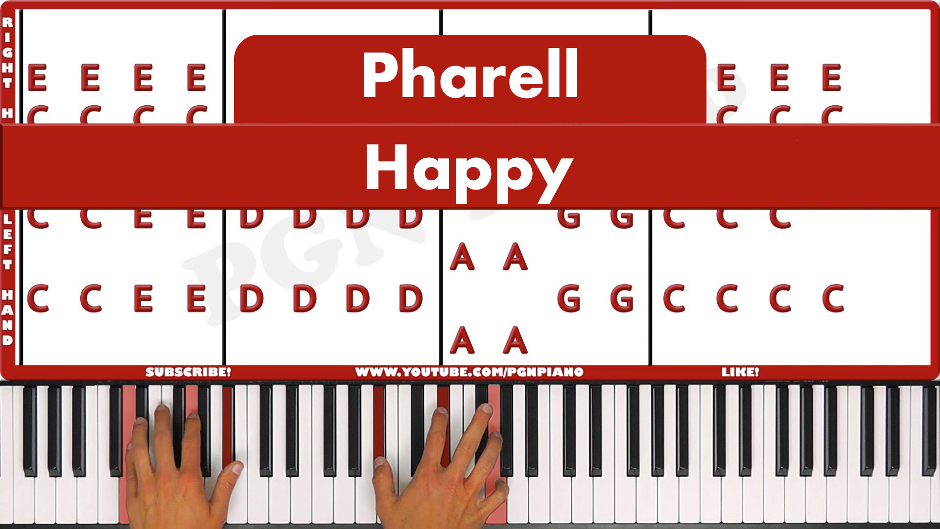 Pharell – Happy – Easy