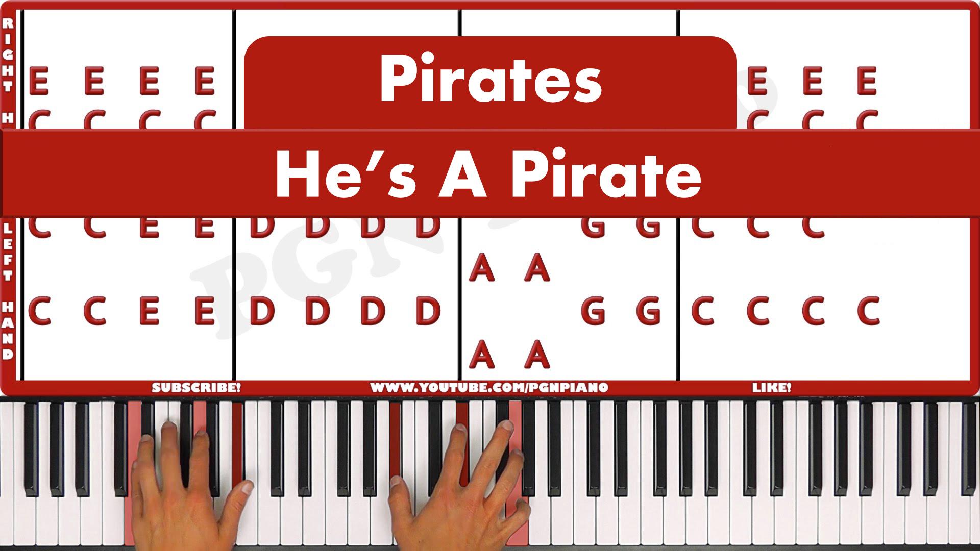 Pirates – He's A Pirate – Original