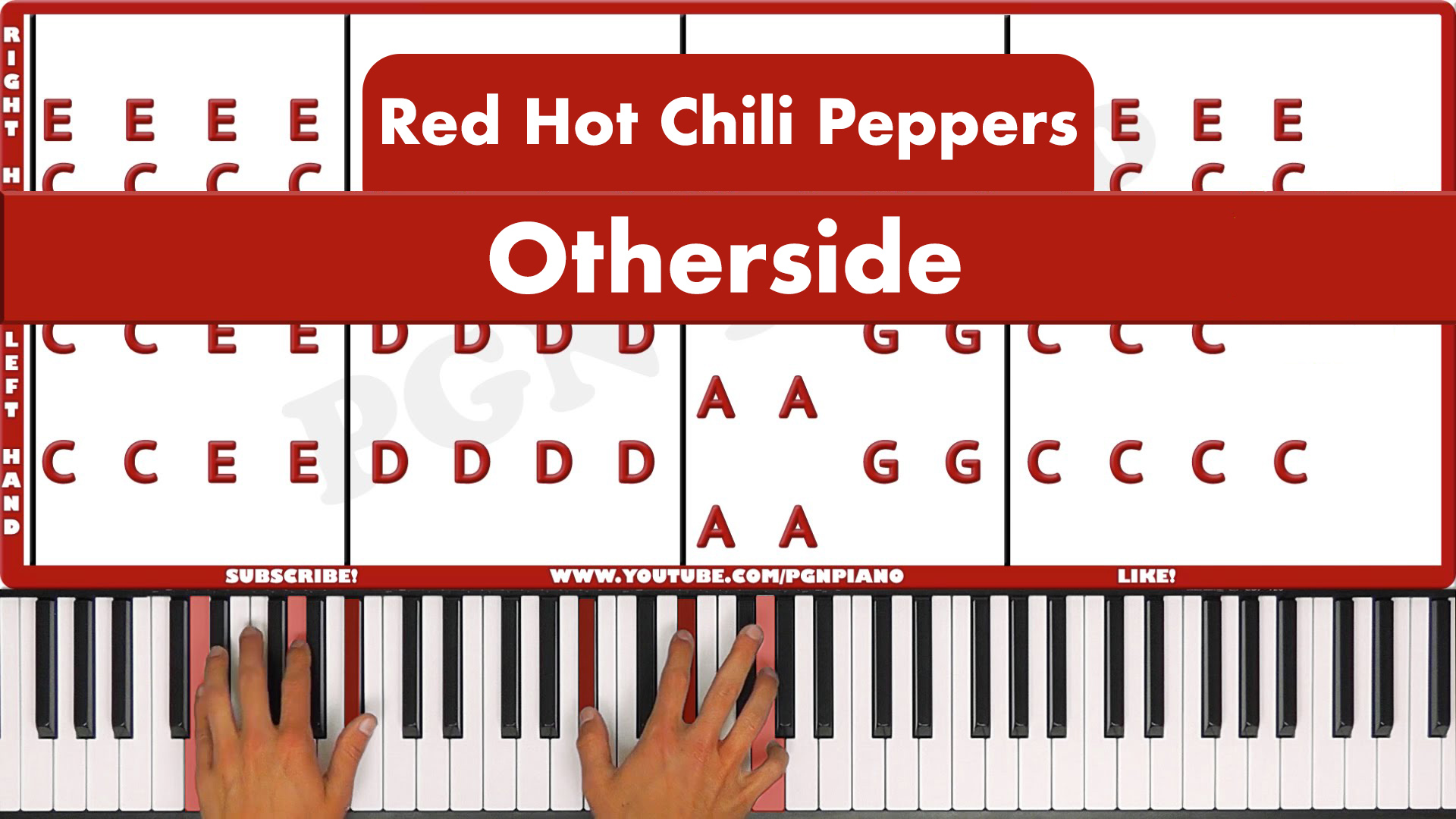 Red Hot Chili Peppers – Otherside – Easy