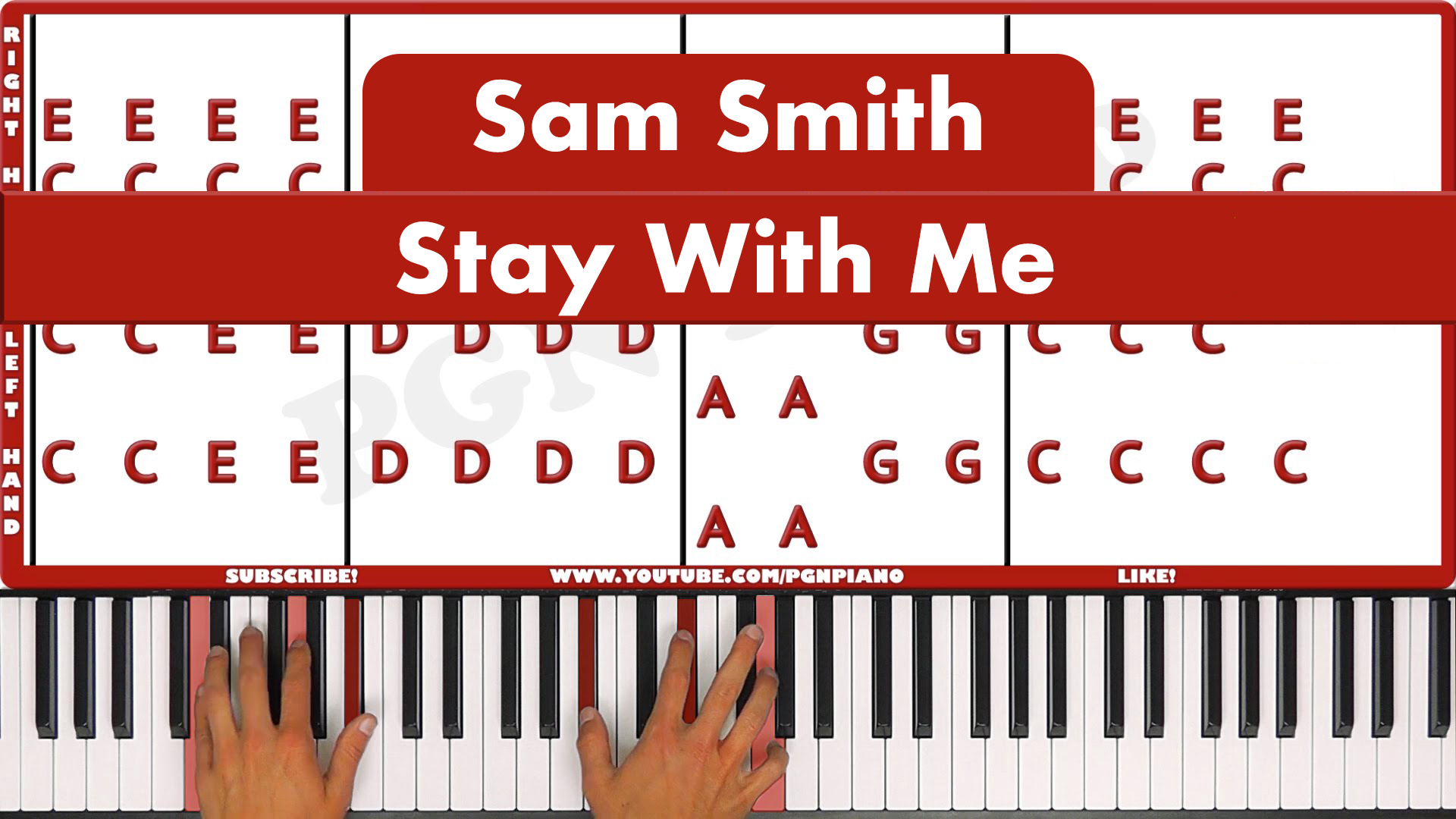 Sam Smith – Stay With Me – Vocal