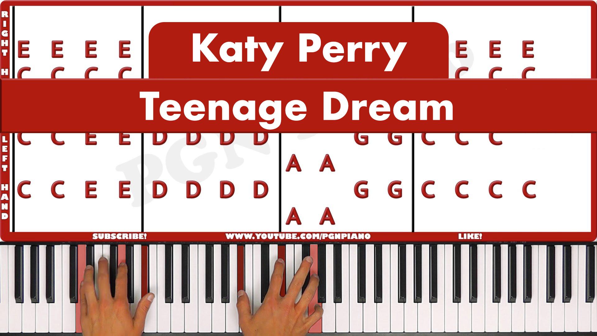 Katy Perry – Teenage Dream – Easy