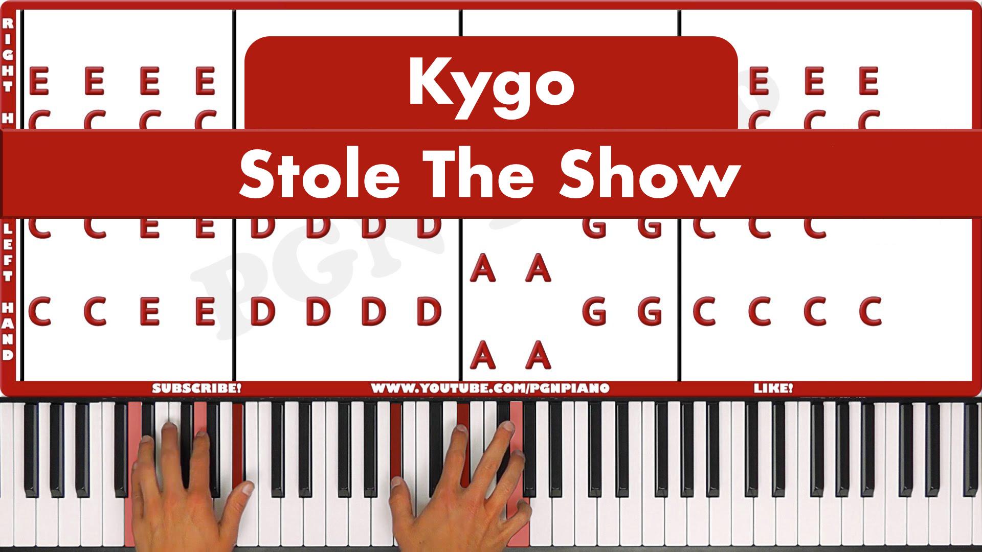 Kygo – Stole The Show – Easy