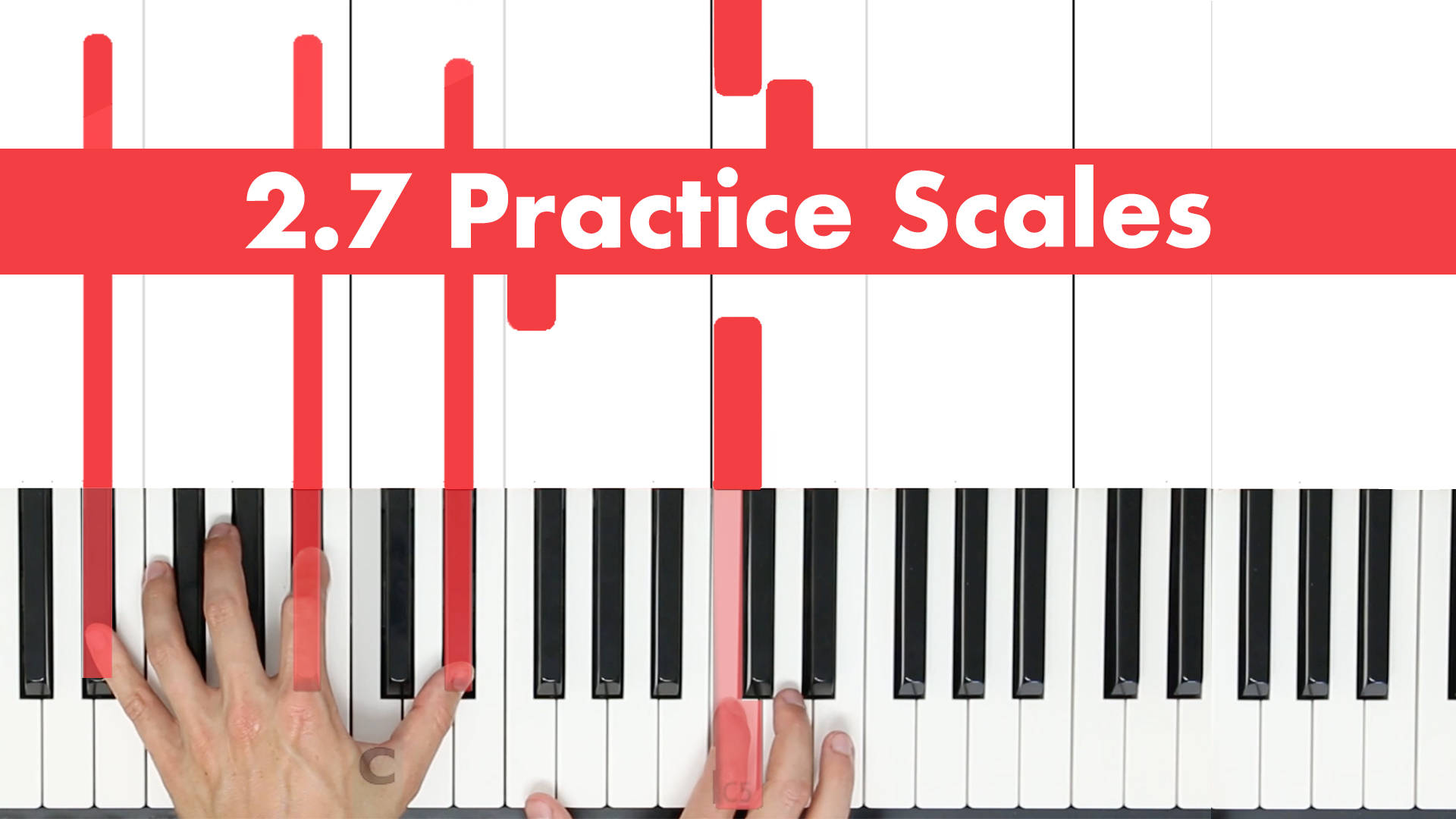2.7 How to Practice Scales?