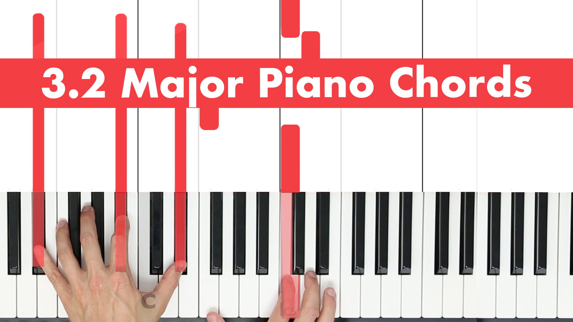 3.2 Major Chords