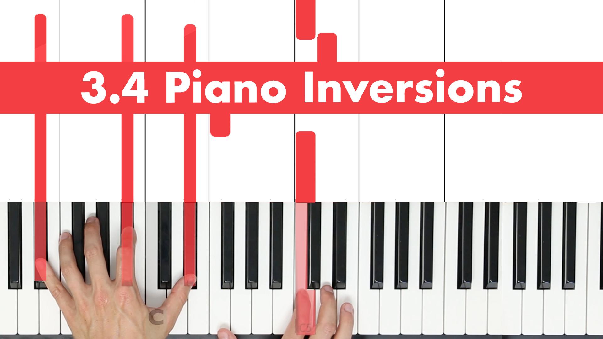 3.4 Piano Inversions
