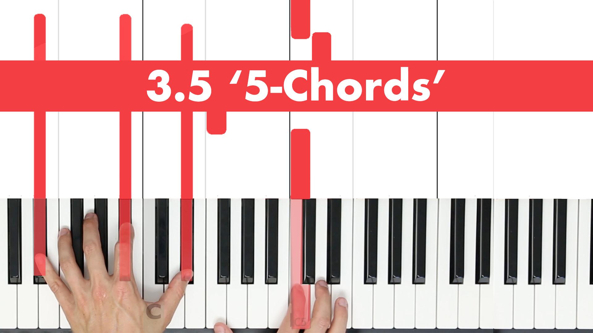 3.5 '5' – Chords