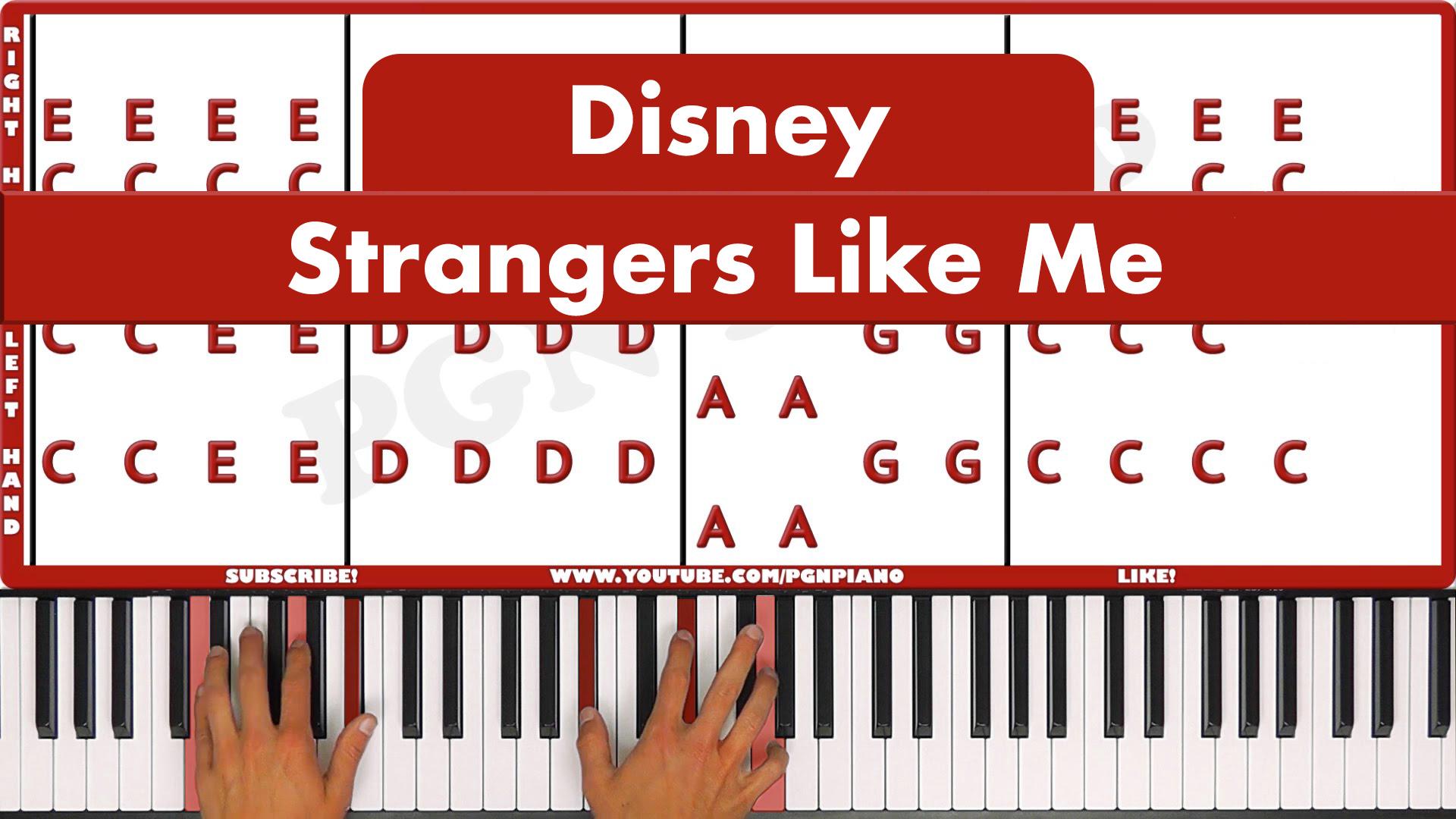 Disney – Strangers Like Me – Vocal