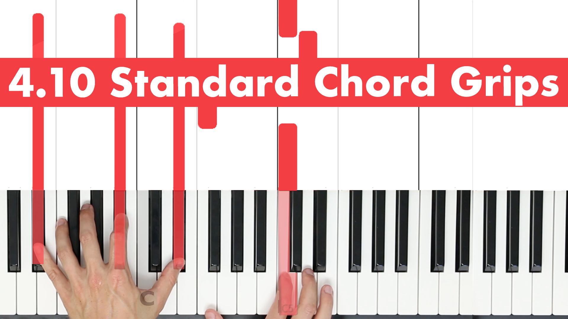 4.10 Standard Chord Grips