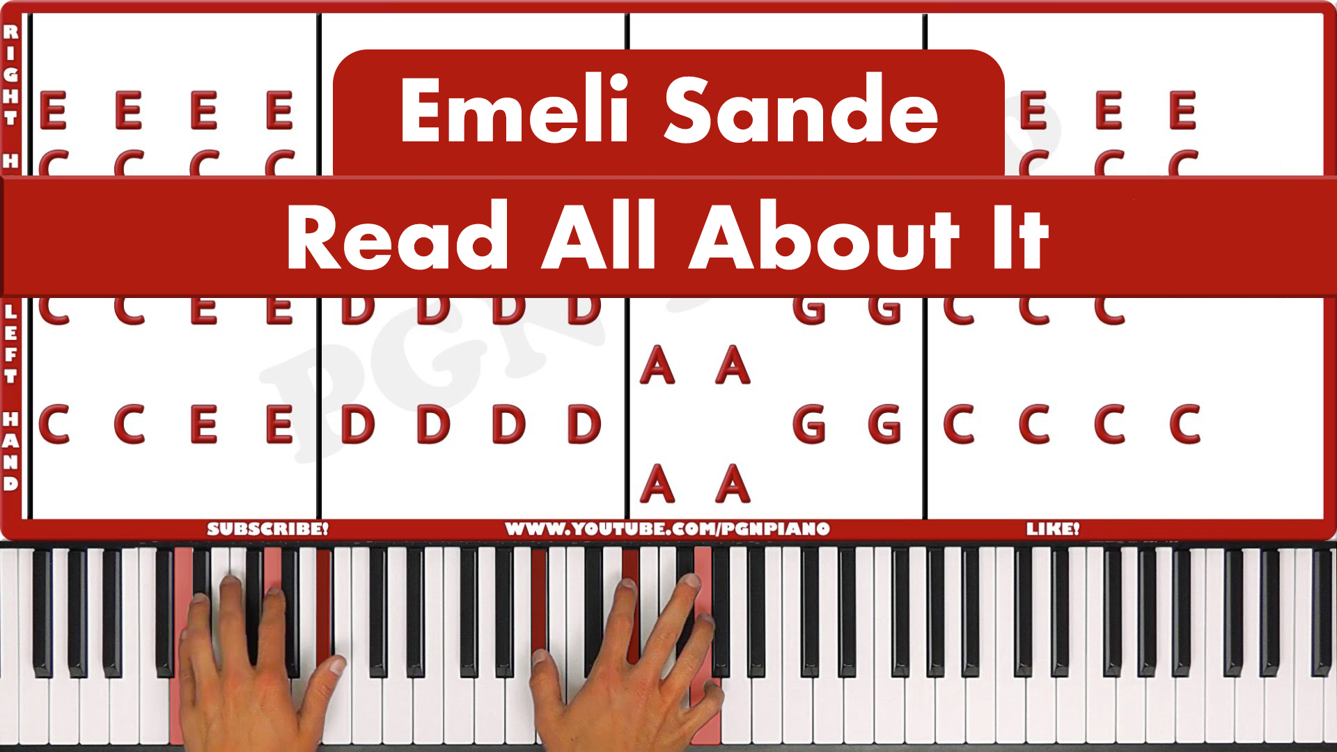 Emeli Sande – Read All About It – Easy