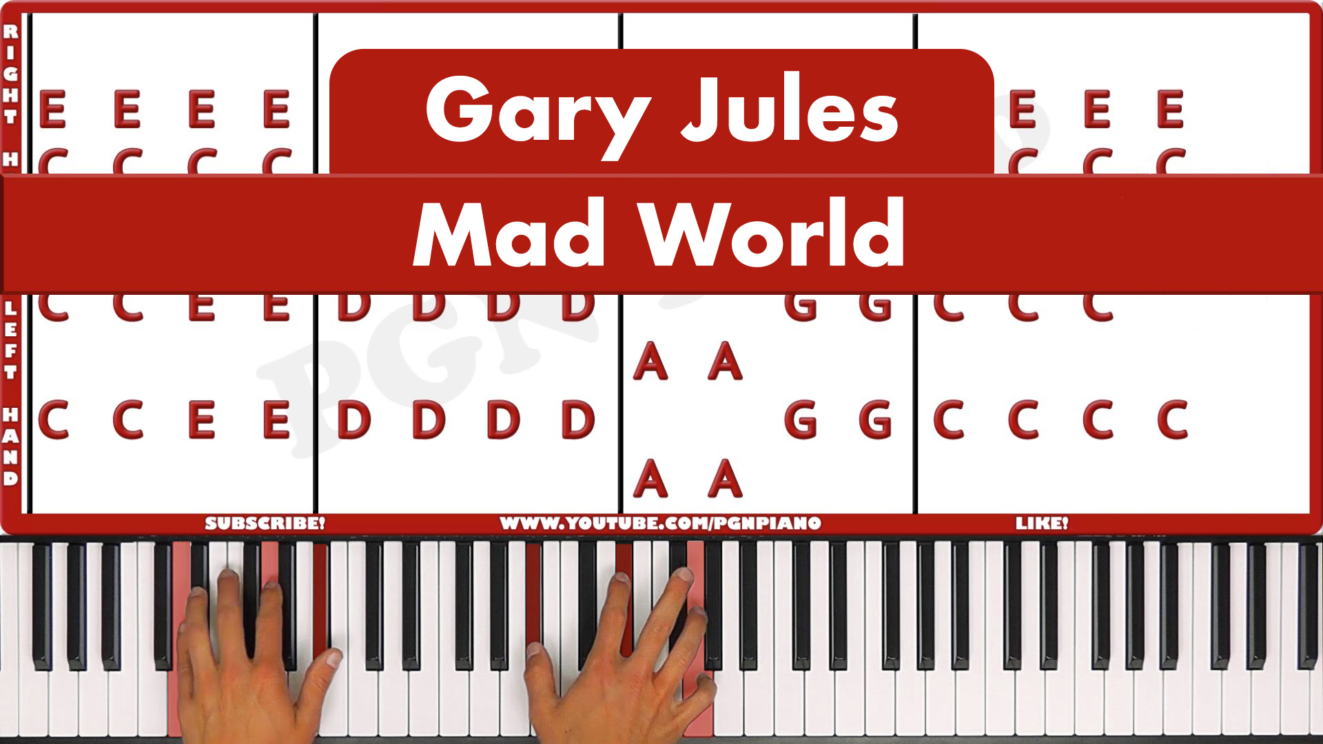 Gary Jules – Mad World – Original