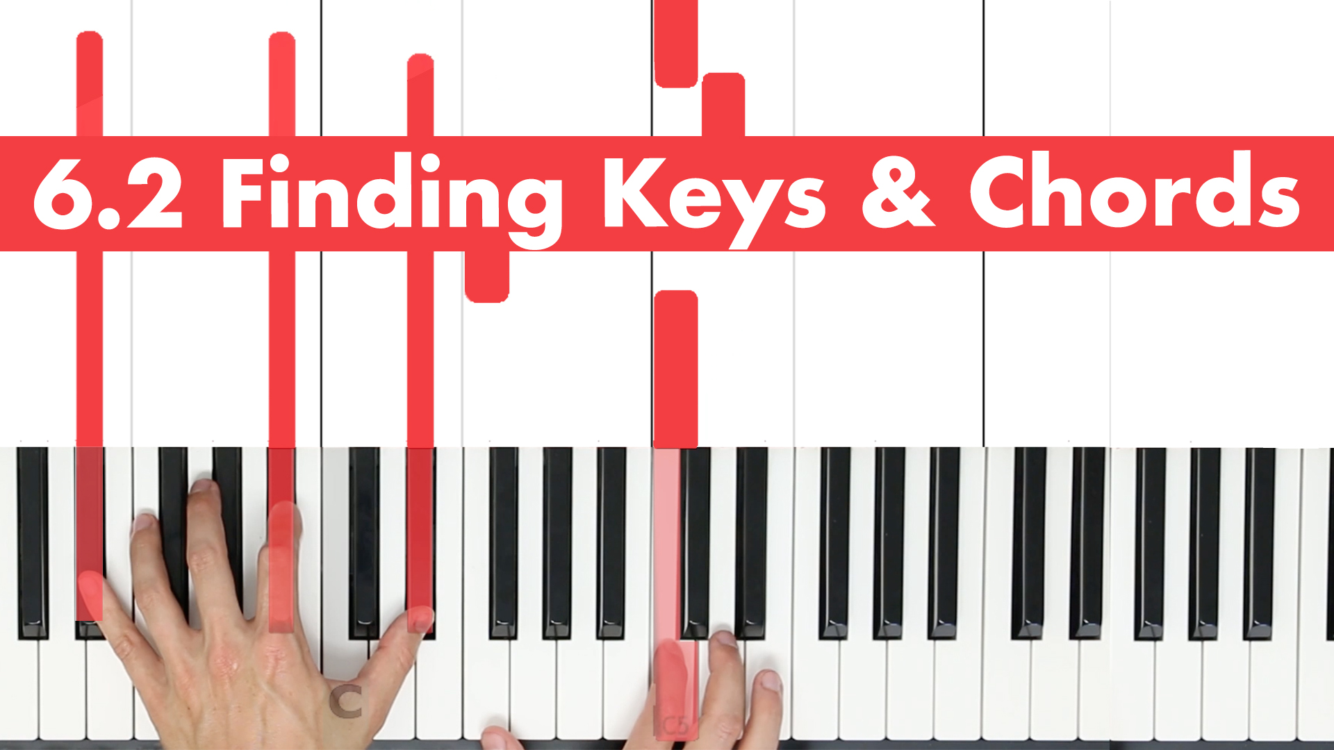 6.2 Finding Keys & Chords