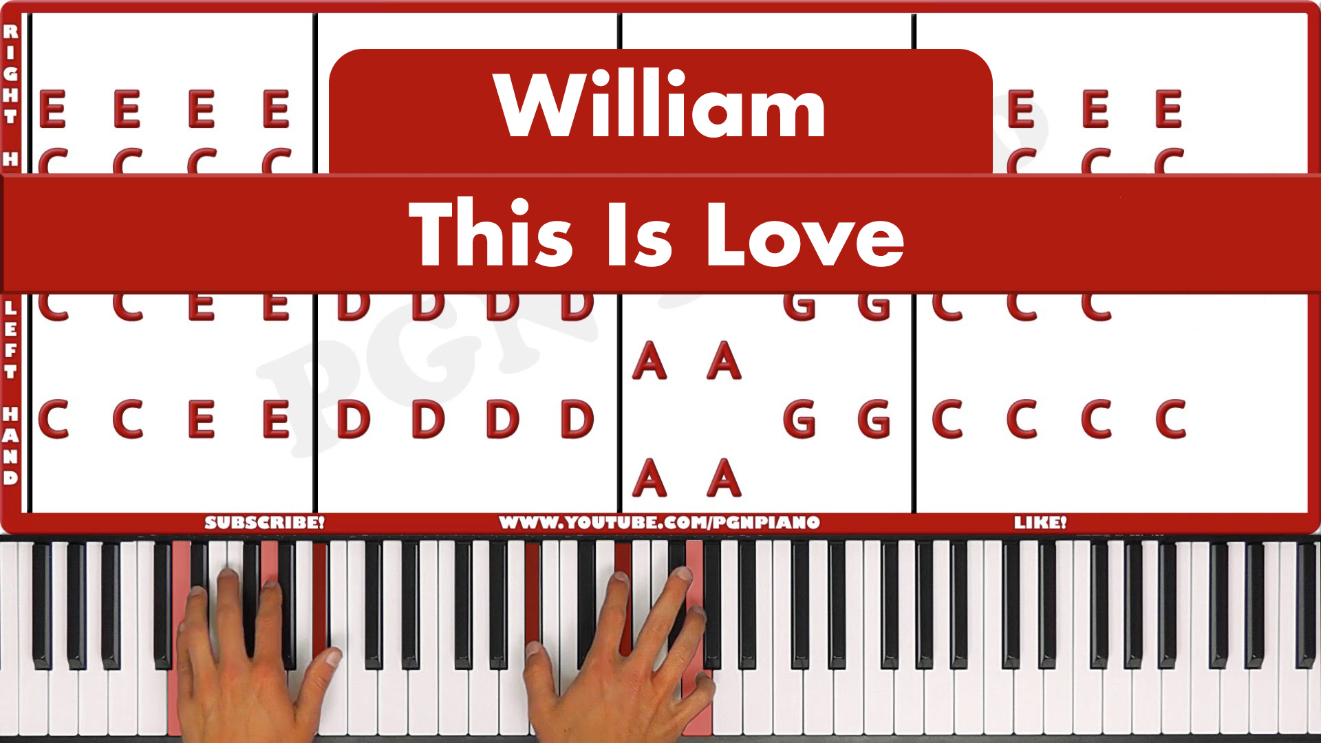 William – This Is Love – Original
