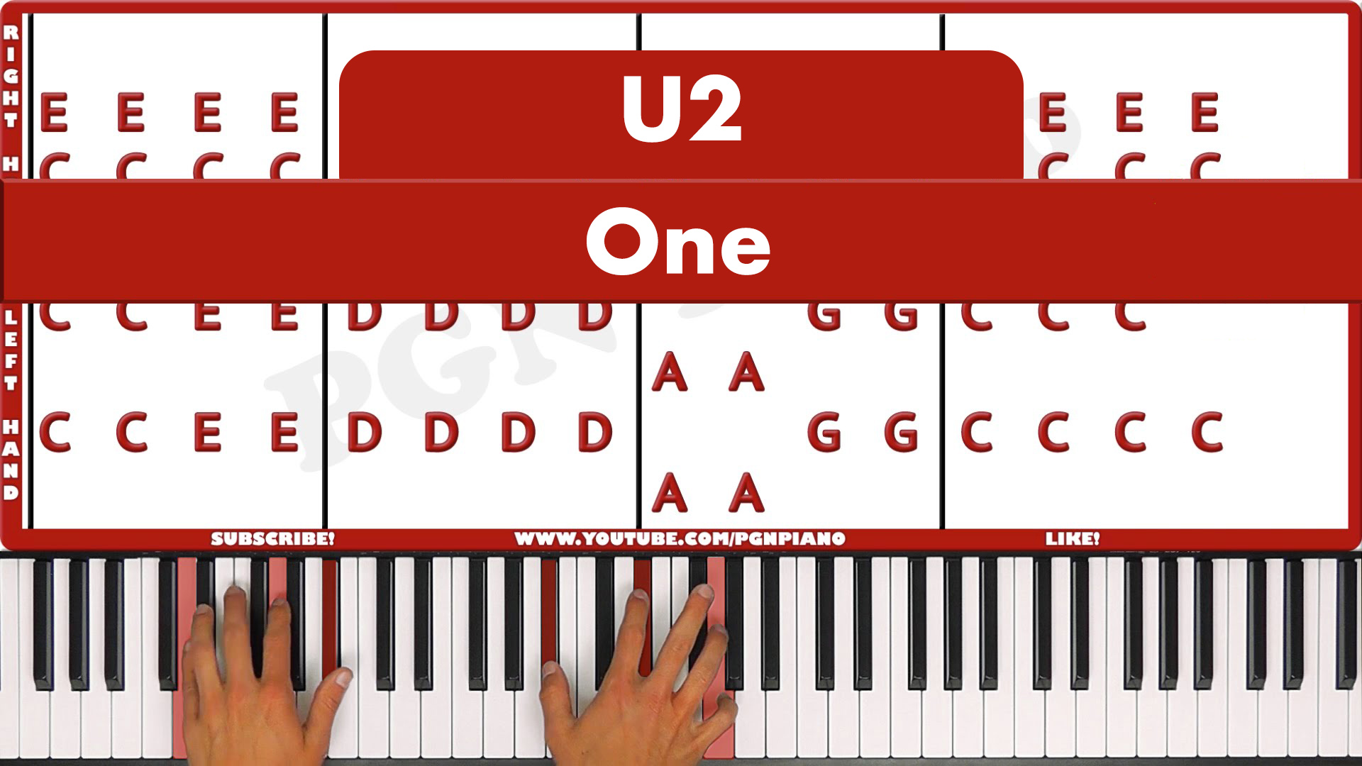 U2 – One – Easy