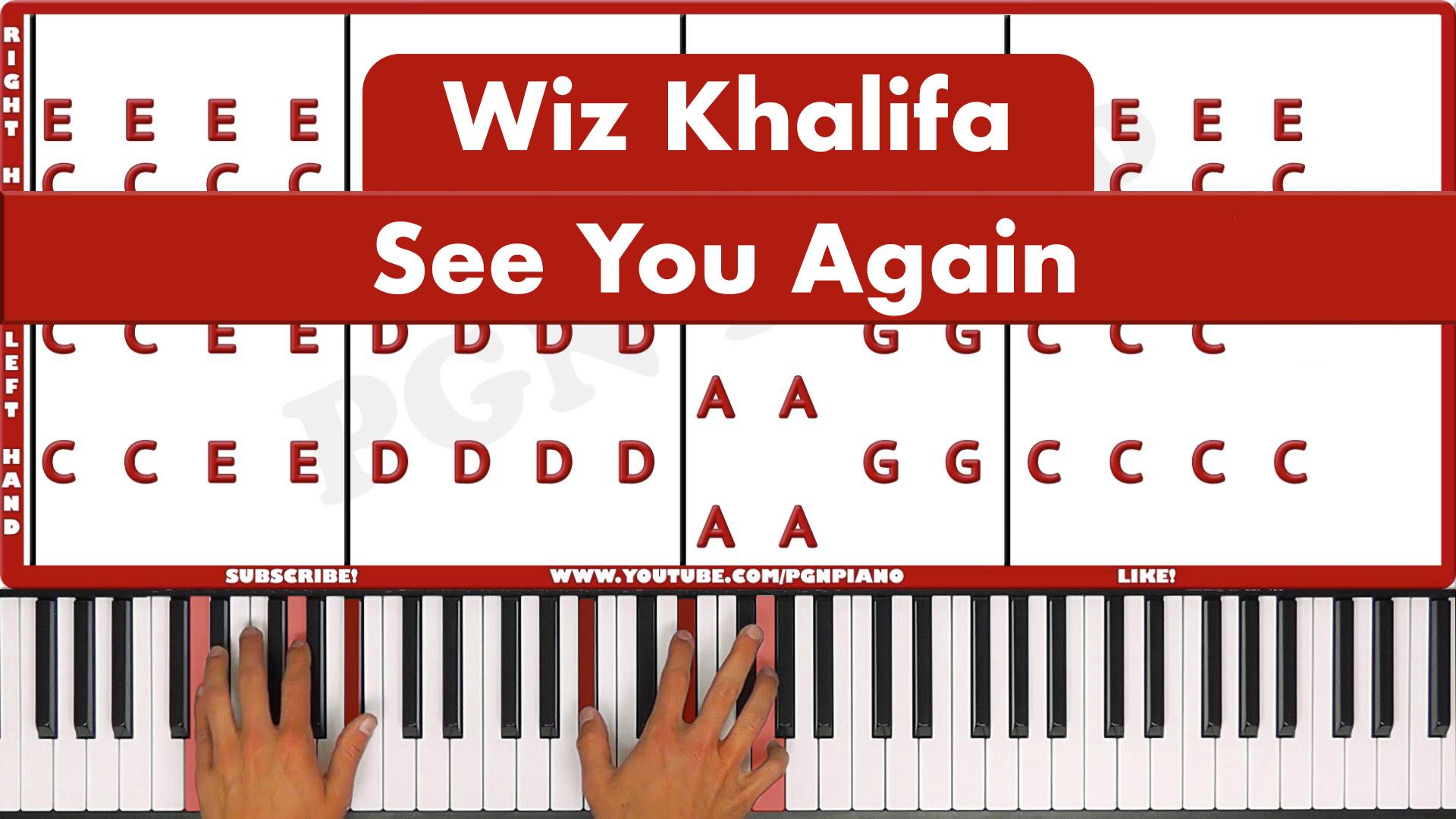 Wiz Khalifa – See You Again – Easy