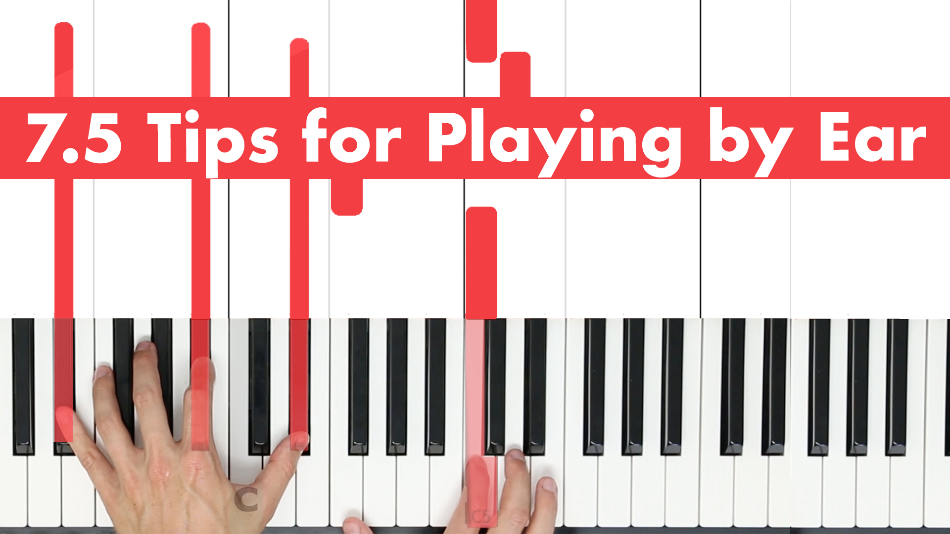 7.5 Tips for Playing by Ear