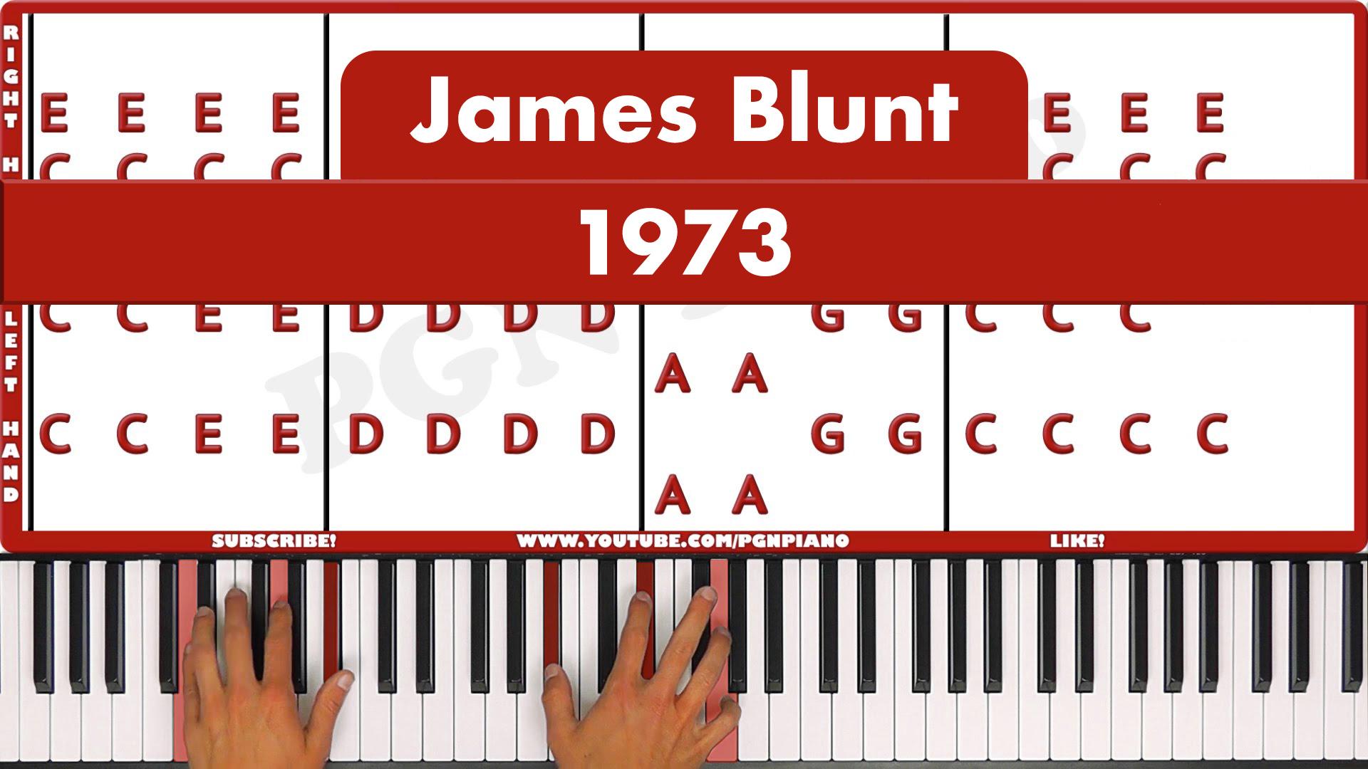 James Blunt – 1973 – Easy