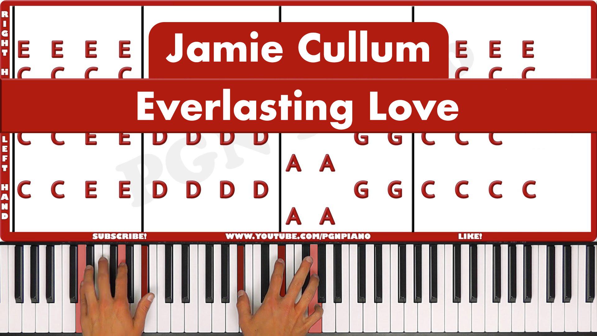 Jamie Cullum – Everlasting Love – Easy