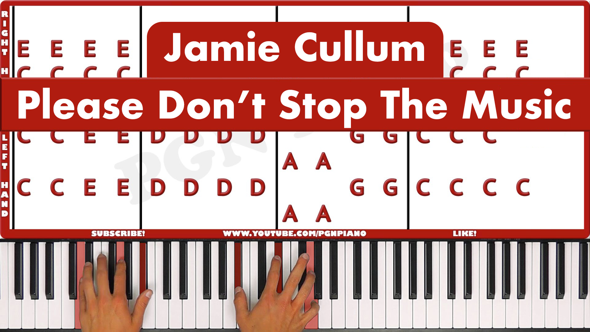 Jamie Cullum – Please Don't Stop The Music – Easy