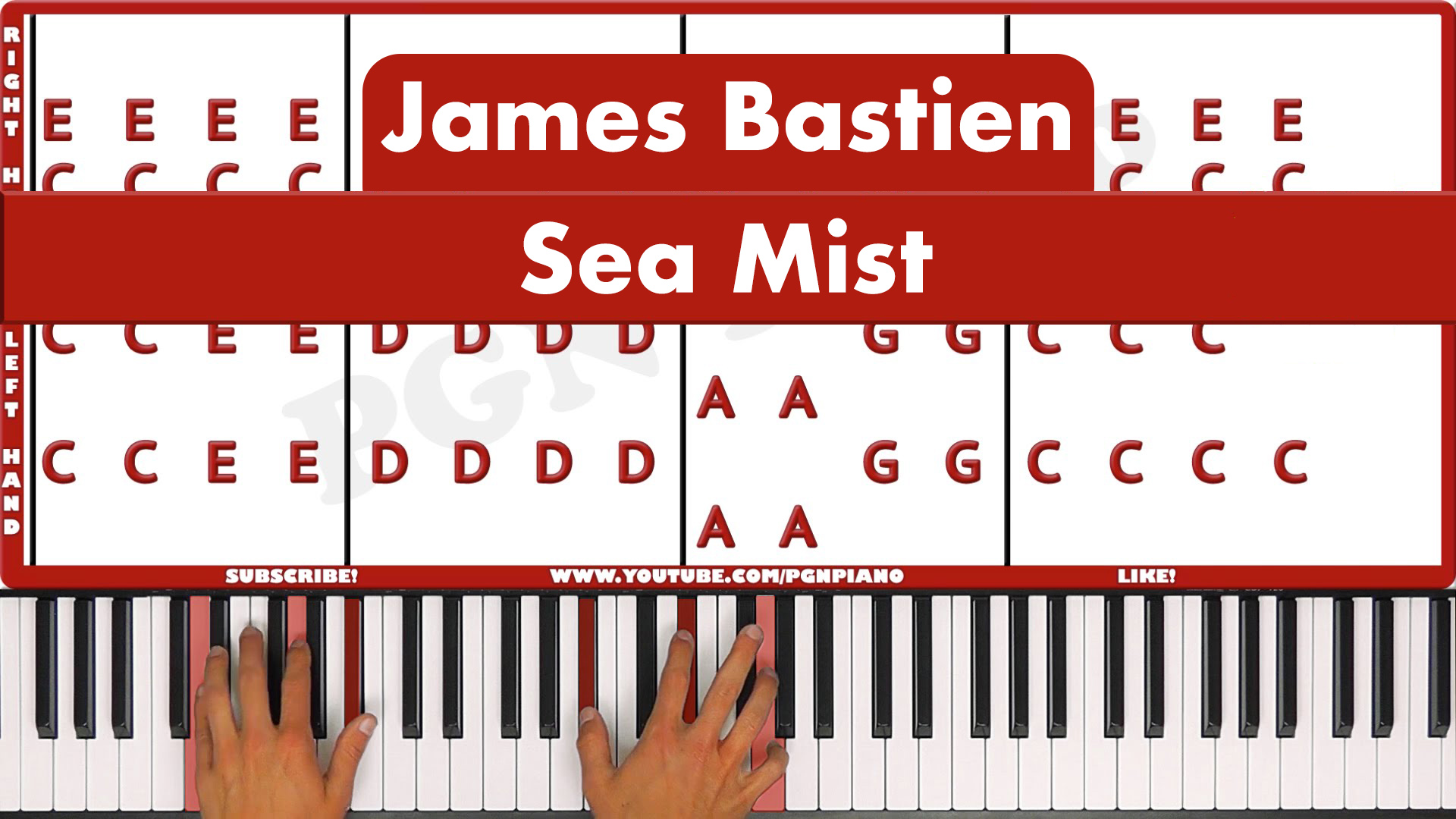 James Bastien – Sea Mist – Original
