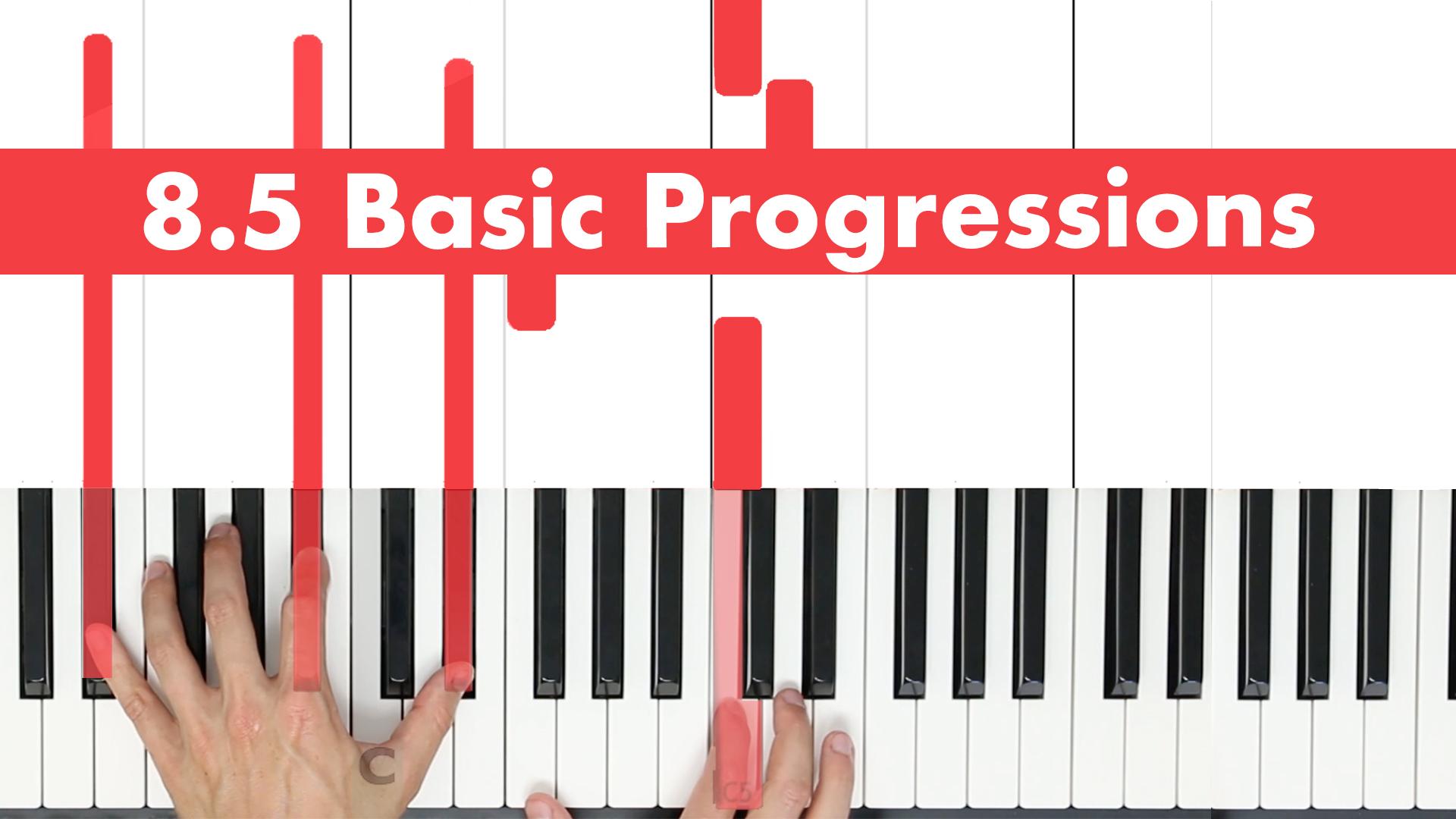 8.5 Basic Progressions