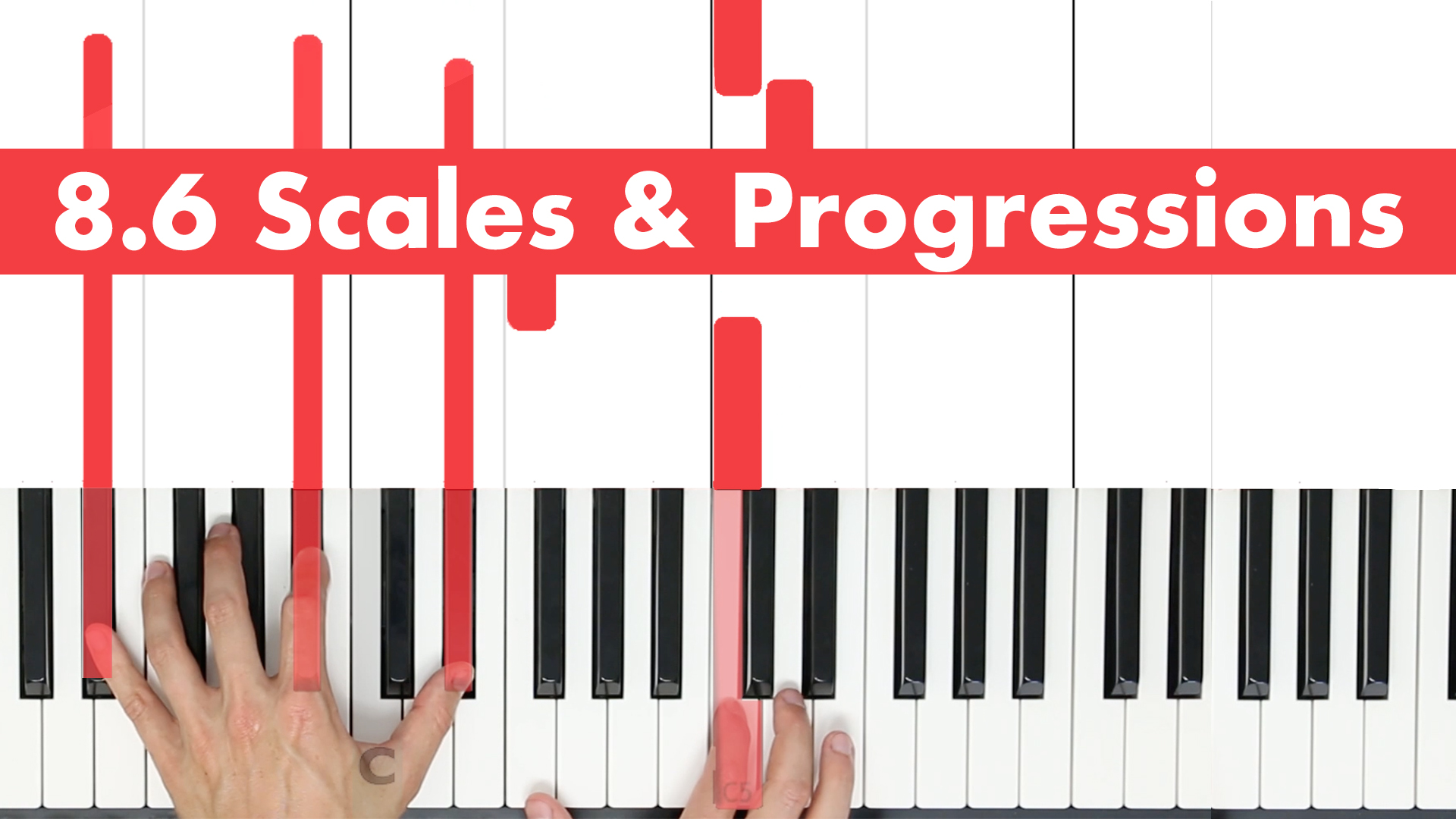 8.6 Scales & Progressions
