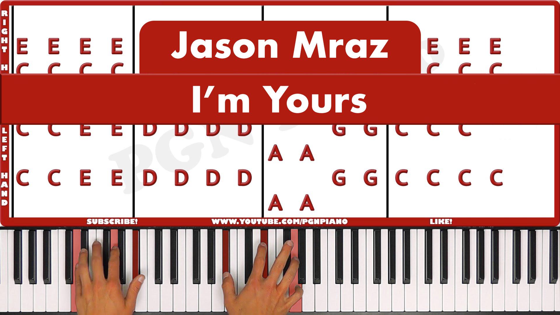 Jason Mraz – I'm Yours – Easy