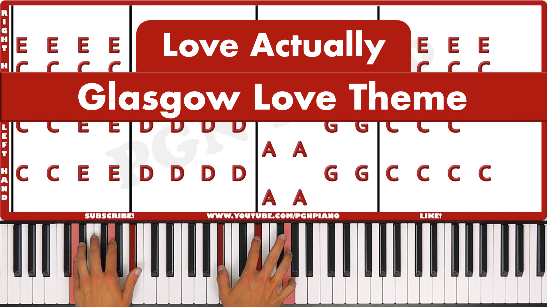 Love Actually – Glasgow Love Theme – Original