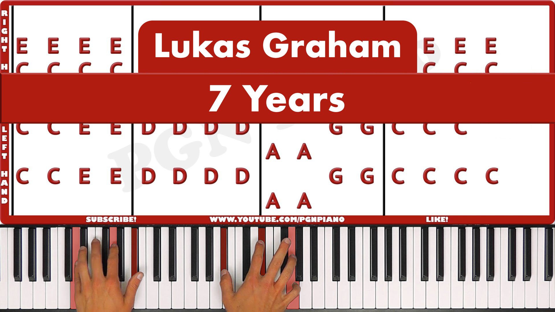 Lukas Graham – 7 Years – Easy
