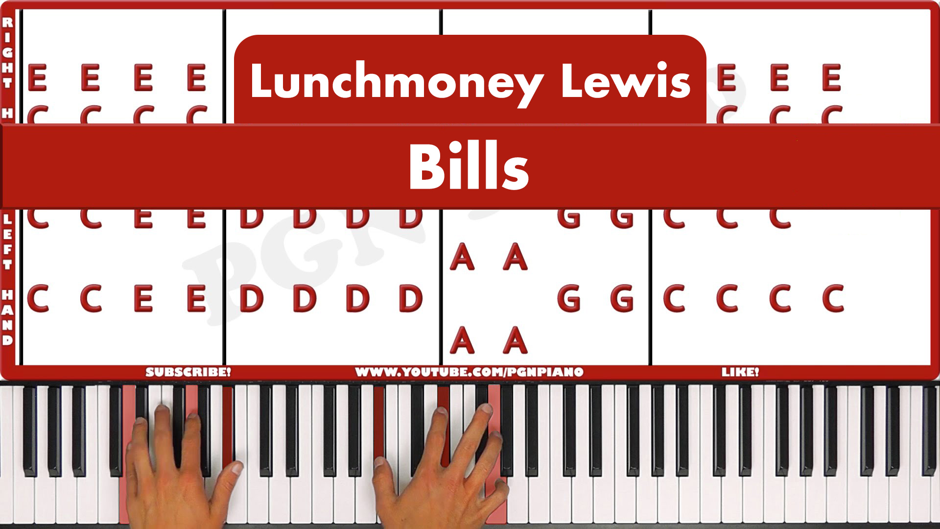 Lunchmoney Lewis – Bills – Original