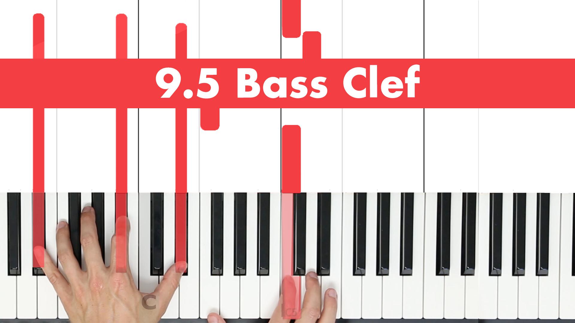 9.5 Bass Clef