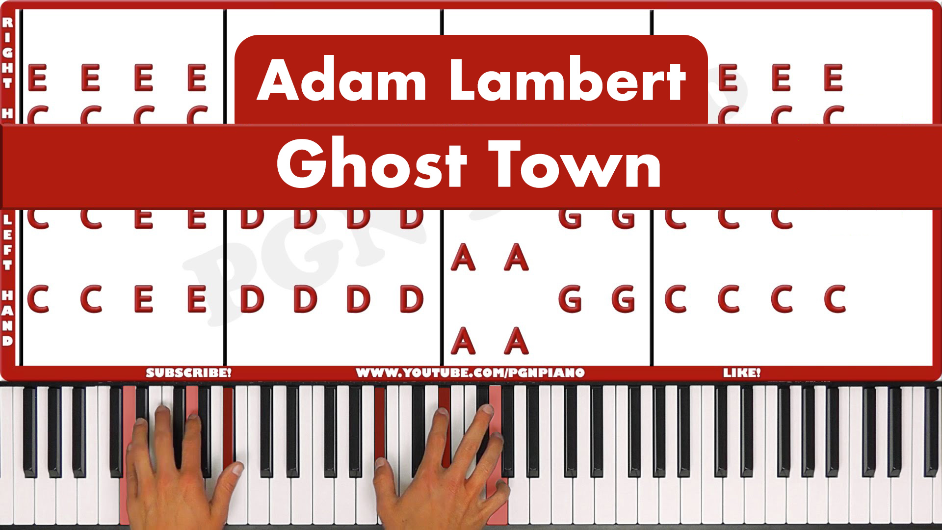 Adam Lambert – Ghost Town – Easy