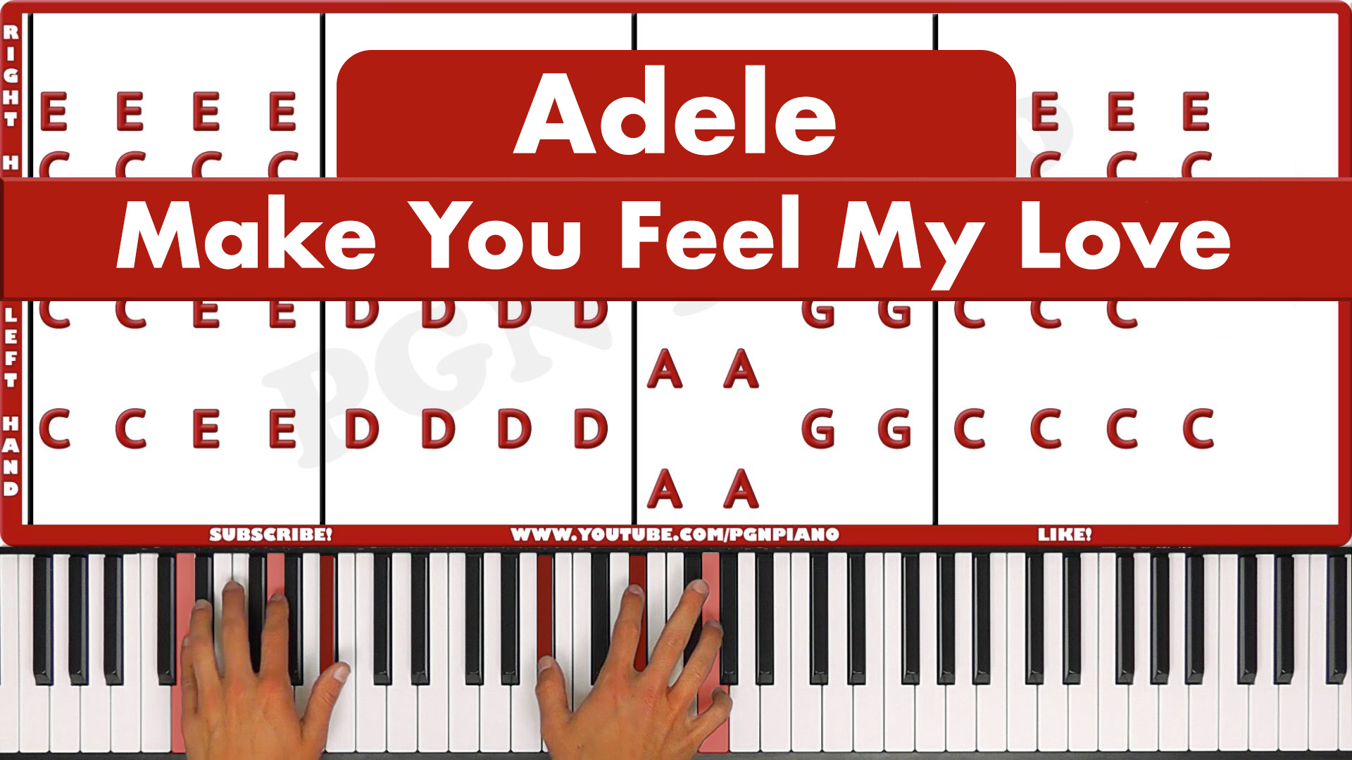 Adele – Make You Feel My Love – Easy
