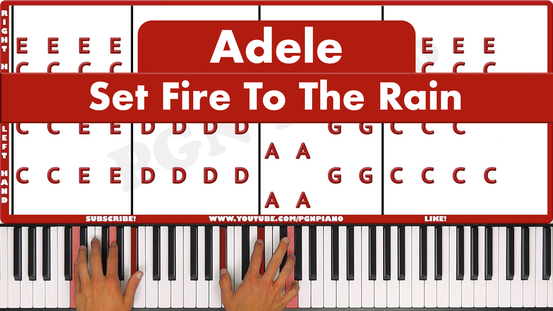 Adele – Set Fire To The Rain – Easy