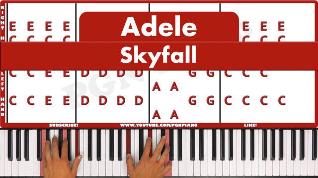 Adele – Skyfall – Original – MARK'S PIANO