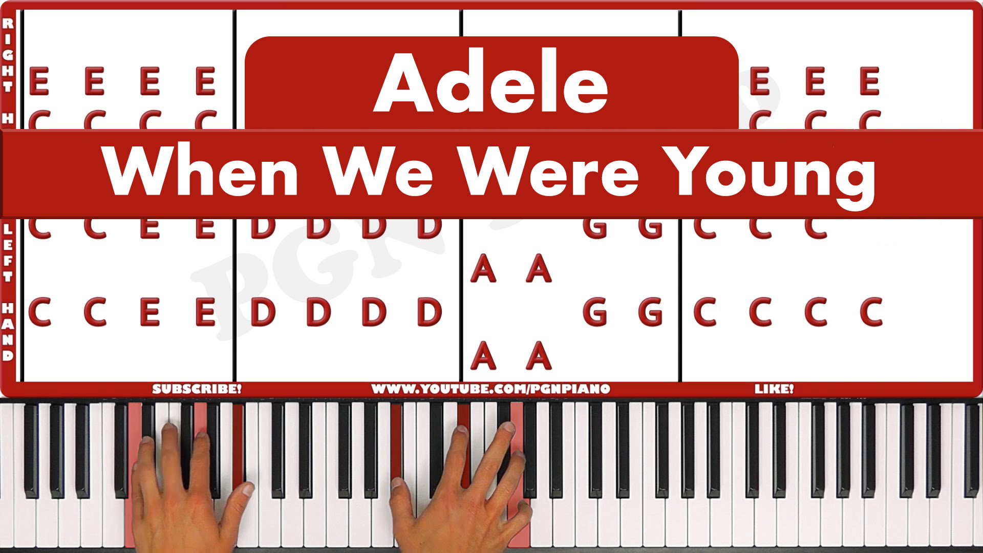 Adele  – When We Were Young – Original