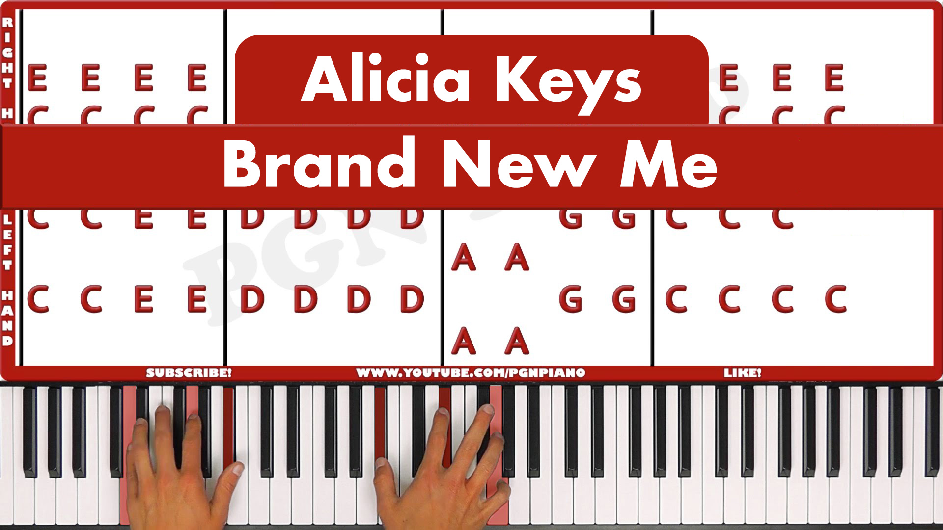 Alicia Keys – Brand New Me – Easy