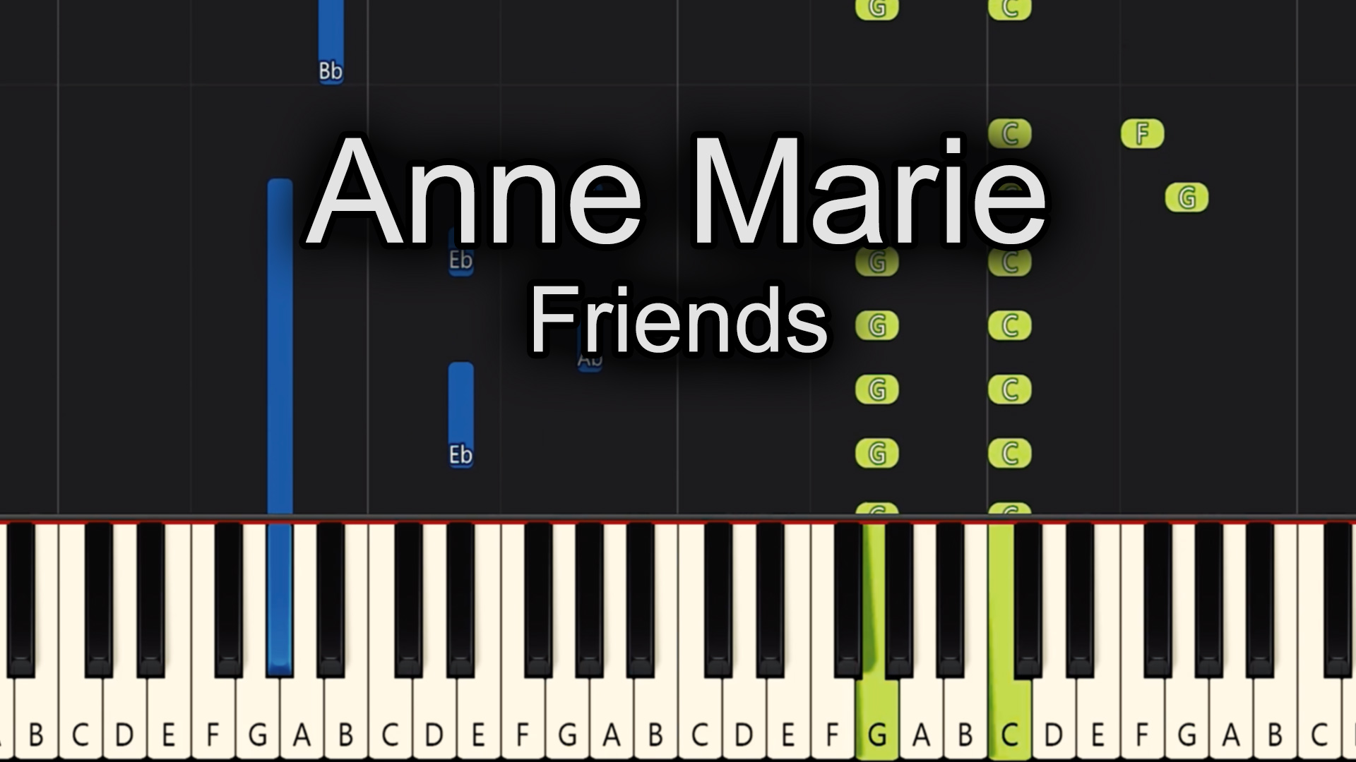 Anne Marie – Friends – Advanced