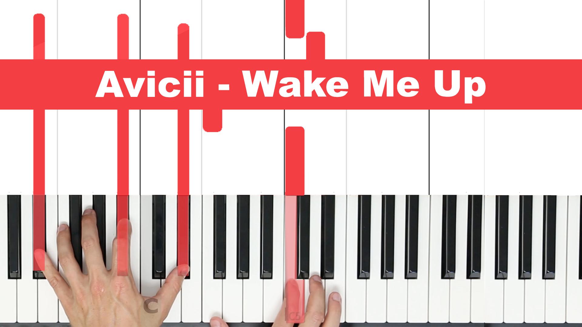 Avicii – Wake Me Up – Easy