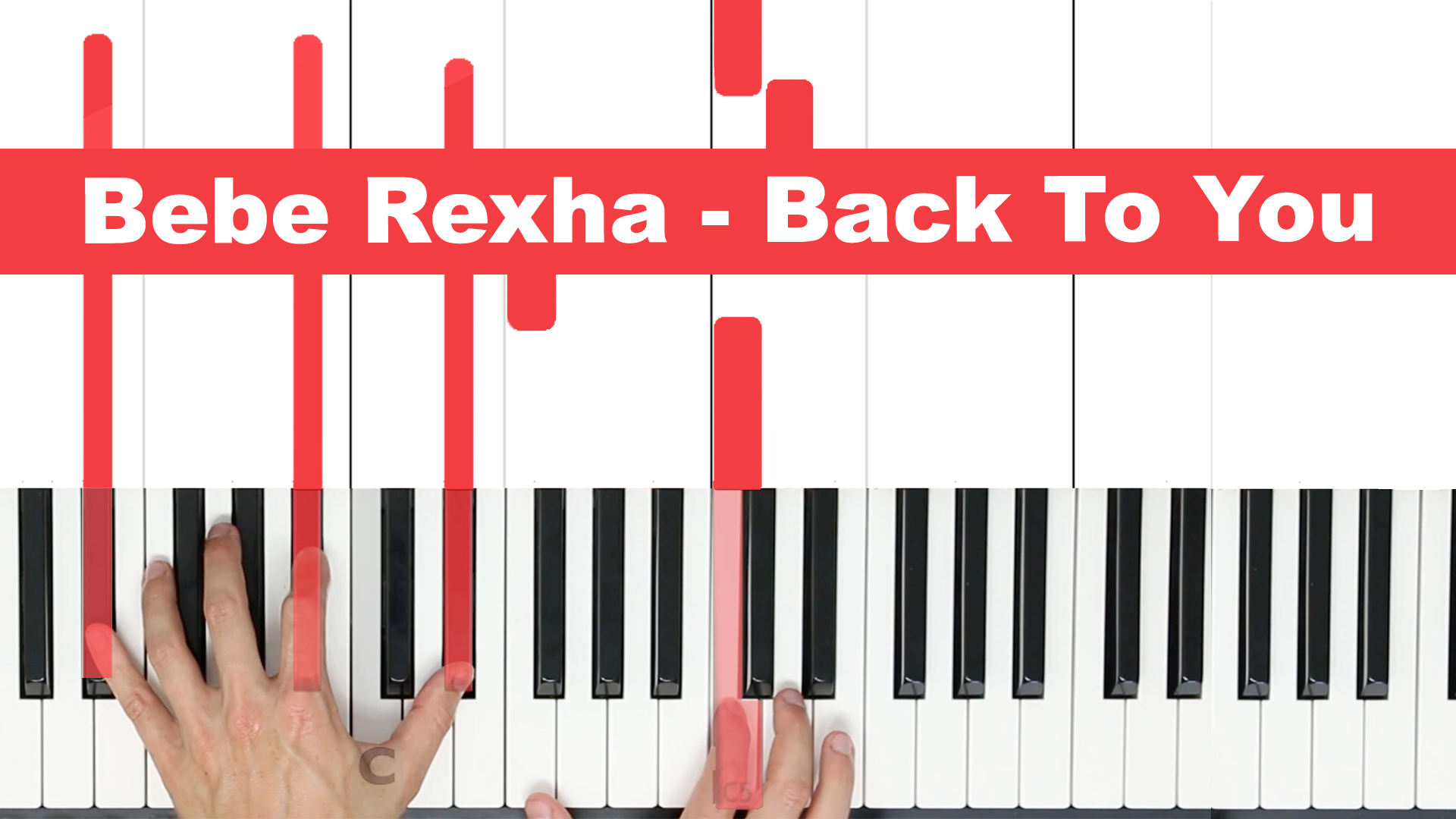 Bebe Rexha – Back To You – Easy