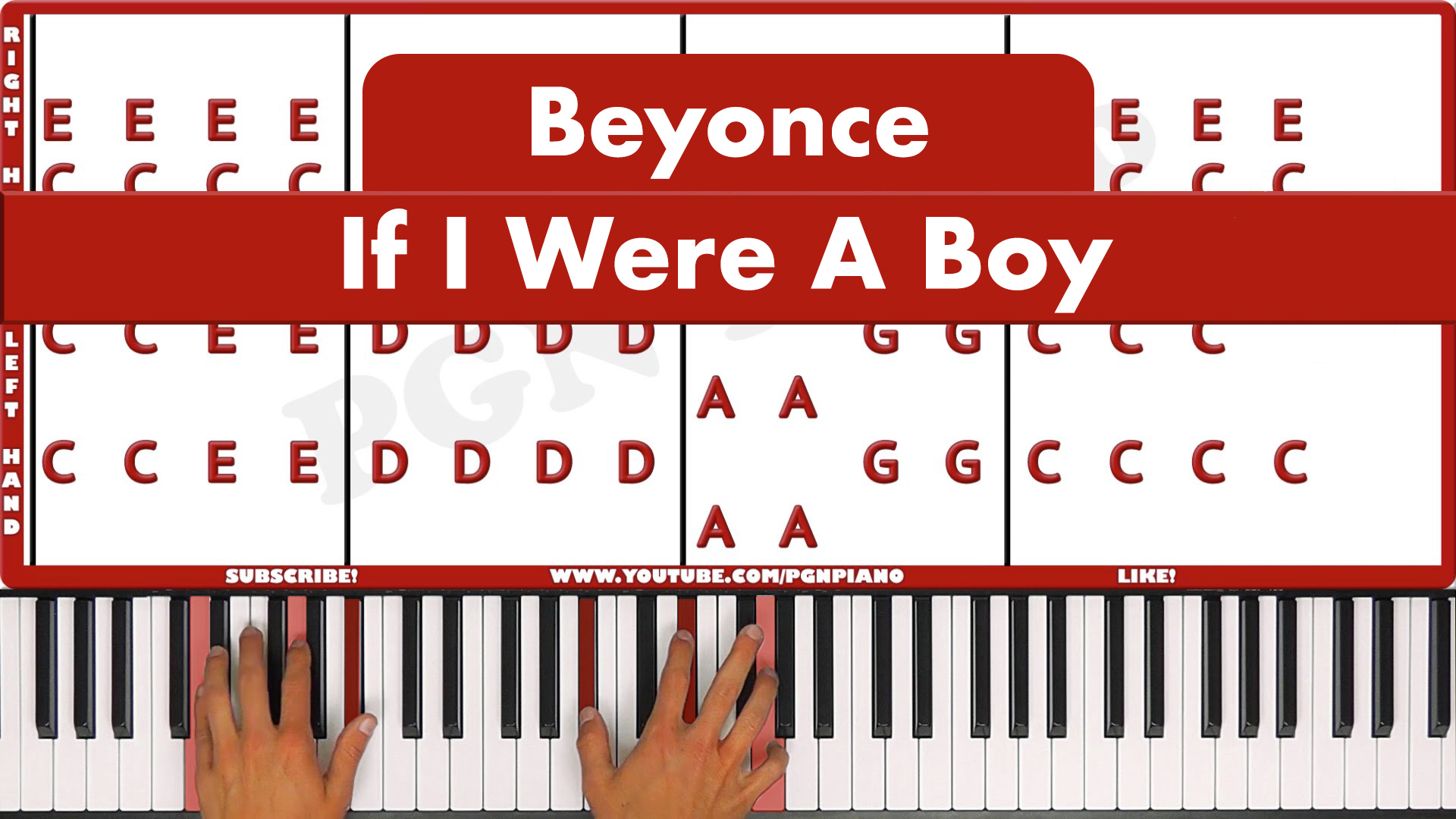 Beyonce – If I Were A Boy – Easy