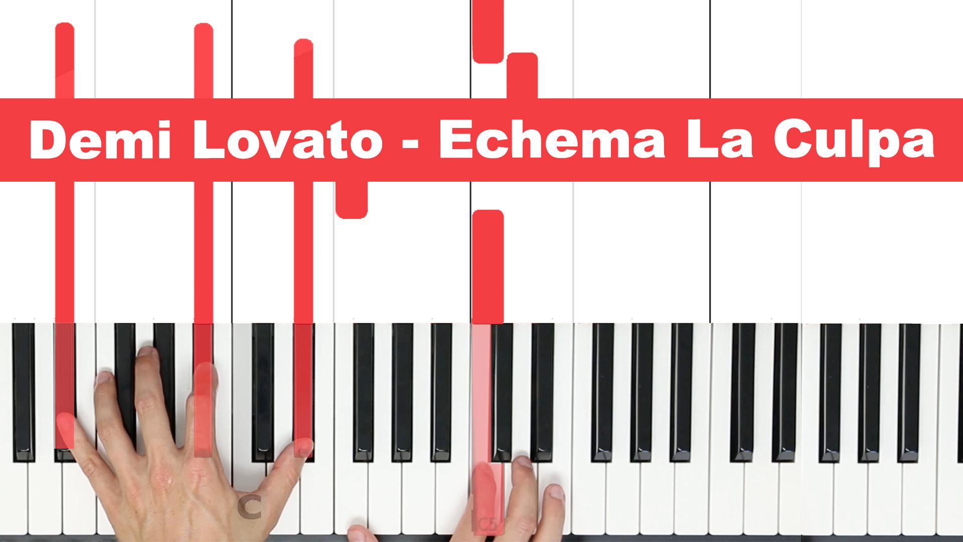 Demi Lovato – Echema La Culpa – Easy
